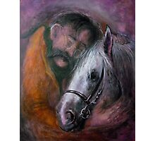 Friedrich and the horse Photographic Print