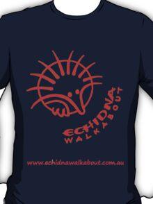 Echidna Walkabout logo Orange T-Shirt