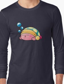 Sleeping Kirby Long Sleeve T-Shirt