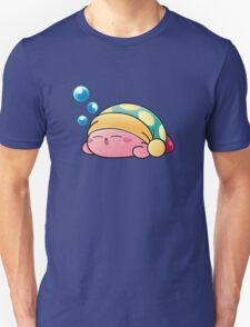Sleeping Kirby Unisex T-Shirt
