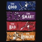 The Good, The Smart, The Bad and The Hungry by Punksthetic