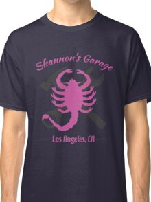 Shannon's Garage (pink) Classic T-Shirt