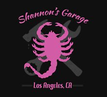 Shannon's Garage (pink) Unisex T-Shirt