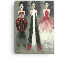 Gown Trio Metal Print