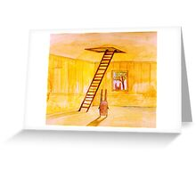 Magic Stair (illustration from the book) Greeting Card