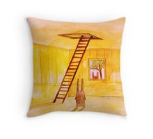 Magic Stair (illustration from the book) Throw Pillow