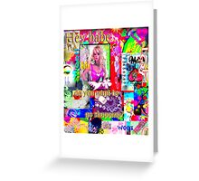 Hey Babe...want to go shopping? Greeting Card