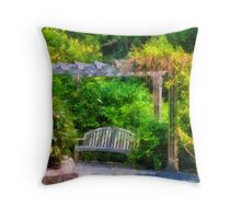 Restful Retreat Throw Pillow