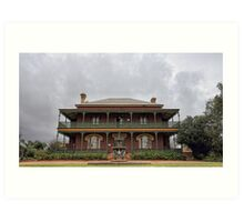 Monte Cristo Homestead Art Print
