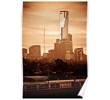 A Bright Melbourne Sunrise Poster