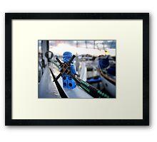 Something Blue, Someone New (3 of 3) Framed Print