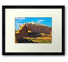 """""""Utah's Stone Sculptures"""" Framed Print"""