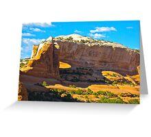 """""""Utah's Stone Sculptures"""" Greeting Card"""
