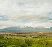 Farm and Mountains by SouthernScape