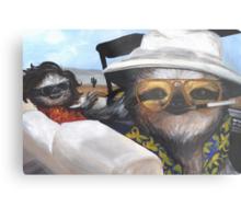 Fear and Loathing in Sloth Vegas Metal Print