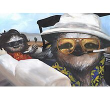 Fear and Loathing in Sloth Vegas Photographic Print