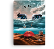 Tear Canvas Print