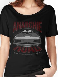 MAD MAX inpired Anarchie Road with Interceptor Design Women's Relaxed Fit T-Shirt