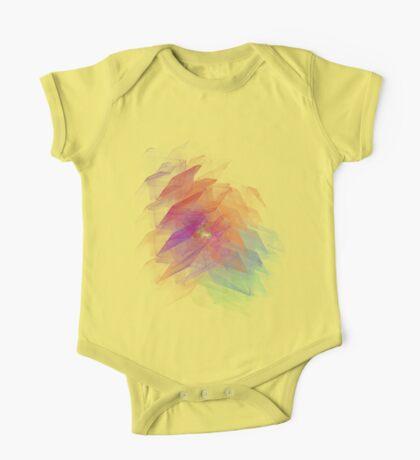 Apophysis Fractal Design - Rainbow Flower One Piece - Short Sleeve