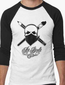 Art Bandit Men's Baseball ¾ T-Shirt