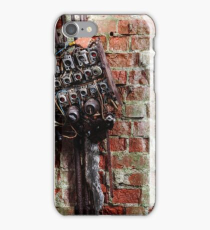 5.12.2015: Broken Fuse Box iPhone Case/Skin