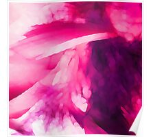 Pink Abstract Watercolor Poster