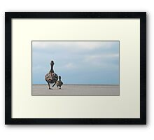 Look Both Ways Framed Print