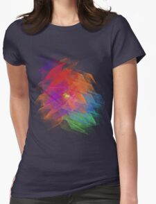 Apophysis Fractal Design - Enhanced Rainbow Flower T-Shirt