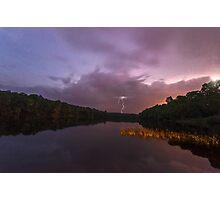Gradient Storm Photographic Print