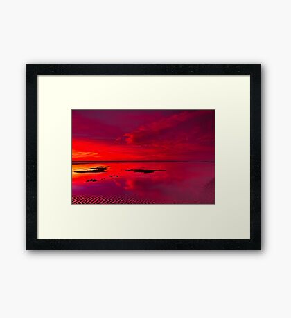 """Reflections Of The Dawn"" Framed Print"