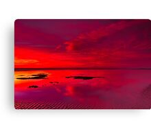 """Reflections Of The Dawn"" Canvas Print"