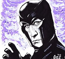 The Master of Magnetism by loulousart