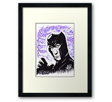 The Master of Magnetism Framed Print