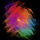Apophysis Fractal Design - Enhanced Rainbow Flower  by iLikeGummybears