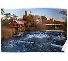 Deloraine at Sunset Poster