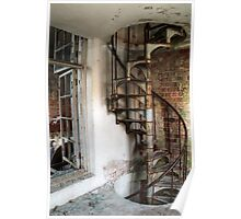 5.12.2015: Iron-Cast Spiral Stairs Poster