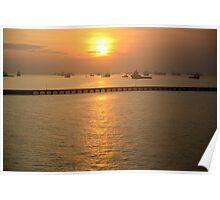 Singapore Sunrise Poster