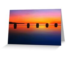 Coogee Sunrise Greeting Card