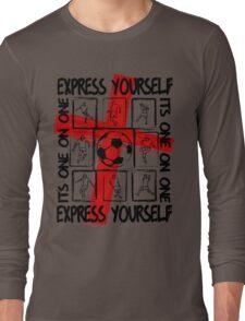 Express Yourself England Long Sleeve T-Shirt