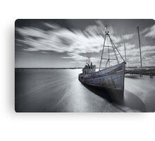 Portugal Fishing Boat Metal Print