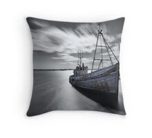 Portugal Fishing Boat Throw Pillow