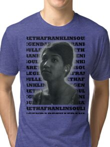 Aretha Franklin Soul Legend Tri-blend T-Shirt