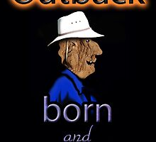 OUTBACK BORN AND BRED by Jon de Graaff
