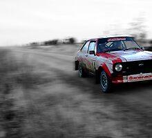 Ford Escort Mk2 Rally Car by Thomas Gelder