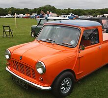 1967 Austin Mini Pick-up by Keith Larby