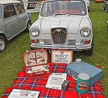 1966 Wolseley Hornet Convertible by Keith Larby