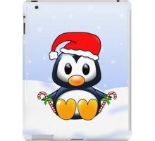 Cute Cartoon Christmas Penguin iPad Case/Skin