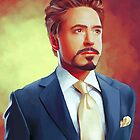 Tony Stark by KanaHyde