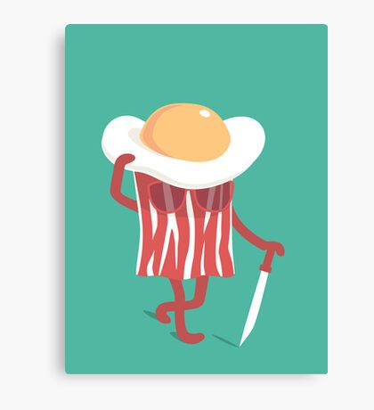 Meet the meat Canvas Print