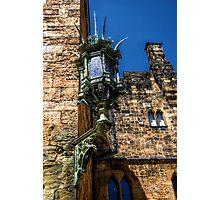 Alnwick Castle Lantern Photographic Print